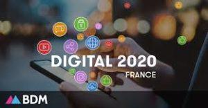 Chiffres clés du digital en France [2020]