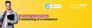 Obtention du certificat de compétences Marketing digital
