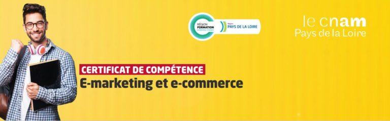 Obtention du certificat de compétences Marketing digital du CNAM
