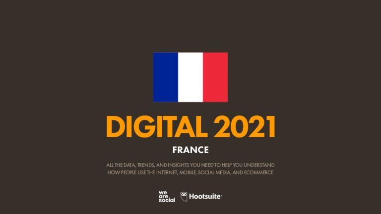 Chiffres-clés du digital en France [2021]